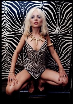 Photo Shoot For Creem, 1976 Photo: Chris Stein