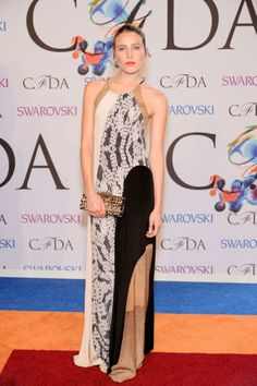 Dree Hemingway in DVF at the 2014 CFDA Awards