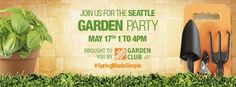 SEATTLE friends! Come join me for the Seattle Garden Party @Graydon Wesley #SpringMadeSimple #seattle #gardening