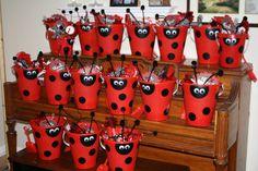 Ladybug Buckets