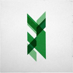 #181 Feathers – A new minimal geometric composition each day