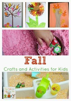 Fall Crafts and Activities for Kids on FSPDT