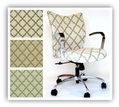 Upholstered Office Chairs on Pinterest