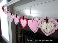 Valentine's Day Bunting!