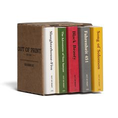 Literary Match Book Set | Outofprintclothing.com