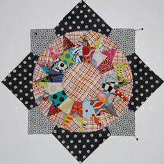 big georg, bom block, georg tutori, quilt block, vibrant colors, paper piec, big little, the block, quilt tutorials
