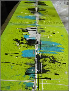 Toile mm on pinterest toile acrylic paintings and abstract paintin for Peinture acrylique sur toile