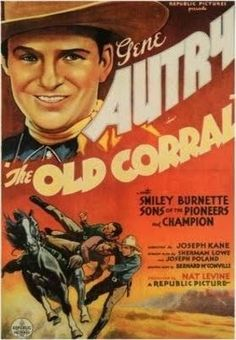 The Old Corral    - FULL MOVIE - Watch Free Full Movies Online: click and SUBSCRIBE Anton Pictures  FULL MOVIE LIST: www.YouTube.com/AntonPictures - George Anton -   Plot: As the sheriff of a small western town, Autry sings his way into a relationship with Eleanor, a singer from a Chicago nightclub who earlier witnessed a murder.