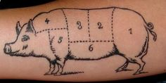 slow down and savor: Tattoos in the Kitchen