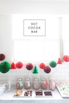 Hot Cocoa Bar + Mars