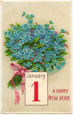 New Year's posties.