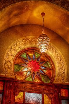 warm colors, orang, window, vibrant colors, door, main entrance, stained glass, islamic art, colored glass