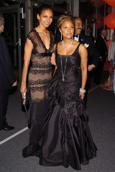 Lynn Whitfield and Susan Fales Hill