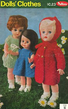 Knitting Patterns - Doll Clothes
