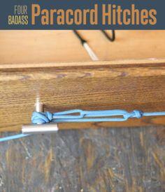 Four Paracord Knots   Paracord Projects #DIYReady