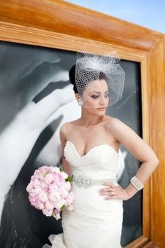 Love everything about this look! Sooo glam!            Dress by Rivini (http://www.rminebridal.com/). Hair & Makeup Yana Beauty Studio (http://www.yanabeautystudio.com/).