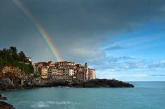 Borgo di tellaro Liguria, Italy. paesaggi marini