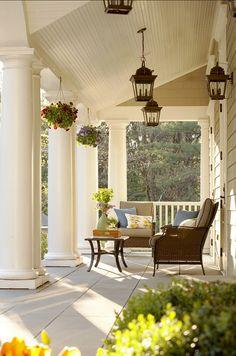 Porch. Beautiful Porch Ideas. #Porch