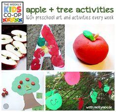 120+ Preschool Art Activities | MollyMoo, Weekly Kids Co-Op