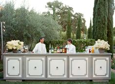 Custom bar for your wedding via Laurie Arons Special Events.  Photo by Meg Smith.