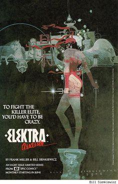 Elektra by Bill Sienkiewicz