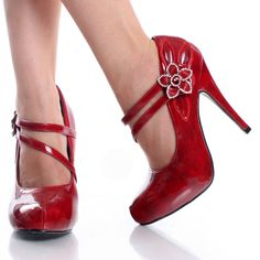 red shoes for the ladies