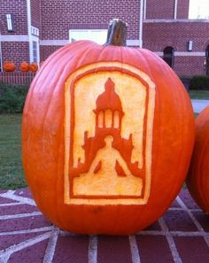 Love this #Baylor logo pumpkin! #SicEm (via Baylor_AandS on Twitter)