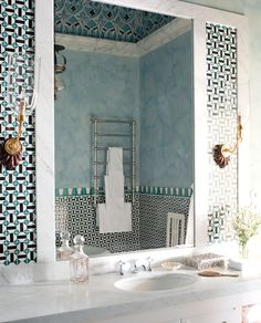 love this tile   Palazzo Margherita: Italy