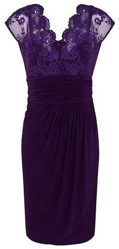 purple lace dress ♥✤