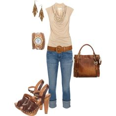 leather, created by johnna-cameron on Polyvore