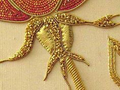 goldwork embroidery - from needlenthread.com