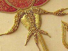 goldwork embroidery - from needlenthread.com