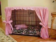 Dog crate cover diy-ideas--AHHHHH!!!!