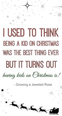 This is so true- nothing like being a parent on Christmas!