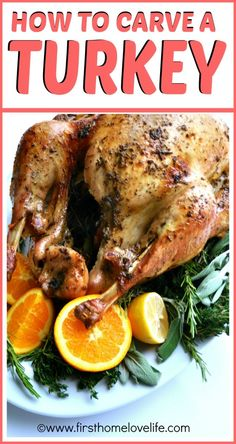 How to Carve a Turkey | First Home Love Life #holidays #thanksgiving #howto #turkey
