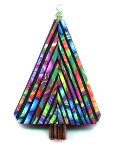 Christmas tree pin design (Kim Korringa's