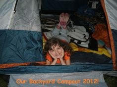Backyard Camping Our Simple Vacation Alternative