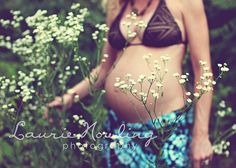 bohemian baby bump I like how the flowers in foreground are focused and the belly (with linea nigra and popped out belly button in my case!!) is soft focus