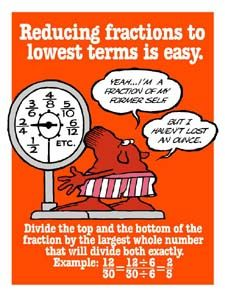 Reducing Fractions to Lowest Terms