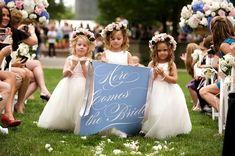 Adorable flower girls