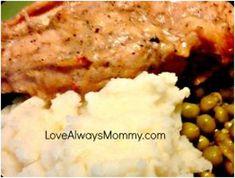 Slow Cooker Lemon Pepper Chicken - This lemon chicken slow cooker recipe is an easy, wholesome dinner idea.