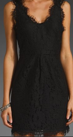 LBD in Lace