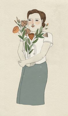 The flower carrier by Lizzy Stewart