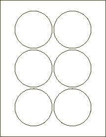Inch Circle Labels for cracker jar lids {template saved in Bulk Food ...
