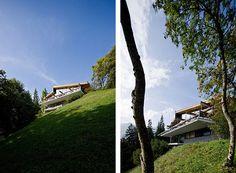 Rentsch House, Switzerland. 1966. Richard Neutra.