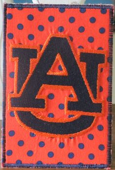 Auburn Fabric Postcard by fabricmom1 on Etsy, $4.99
