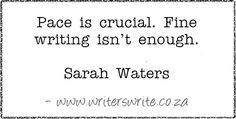 Quotable - Sarah Waters - Writers Write