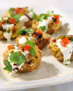 Taco-Stuffed Potato Skins Recipe