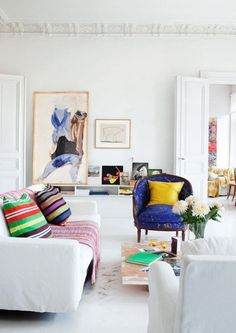 Look We Love: Colorful Minimalism   Apartment Therapy