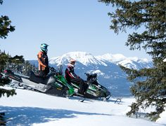 West Yellowstone Montana is once again the Top Rated Snowmobile area in the West according to SnoWest Magazine readers survey - The Western Guide to snowmobiling.